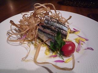 ARBOL(秋刀魚のカルパッチョ)