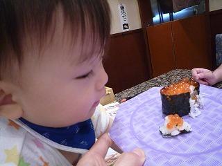 101011_沼津 魚がし鮨(いくら食べようとする) (1)