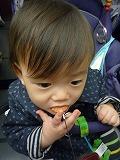 101024_南瓜モンブストラップ食べる (1)