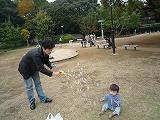 101114_どんぐり公園(つー&だい)