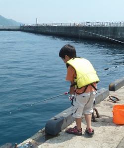 1熱海釣り中