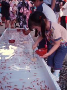 20100630金魚すくい