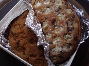 20101114小麦ふすま入りパンケーキ