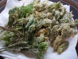 20110509山菜の天ぷら