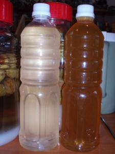 梅シロップ2種