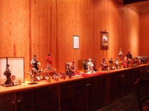 2010年10月和紙人形展