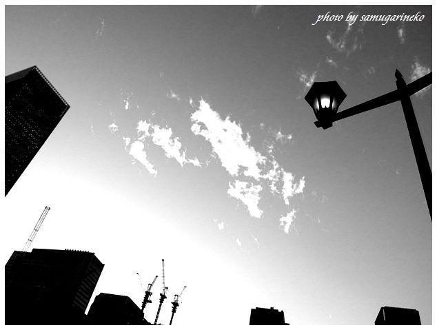東京駅の空