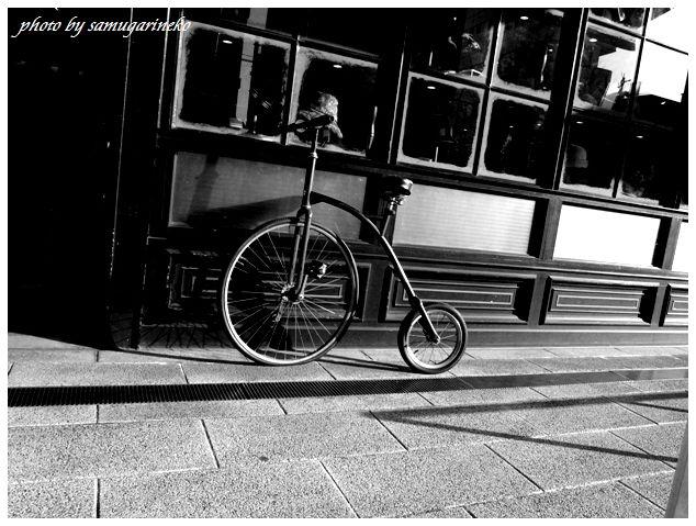 レトロな自転車です