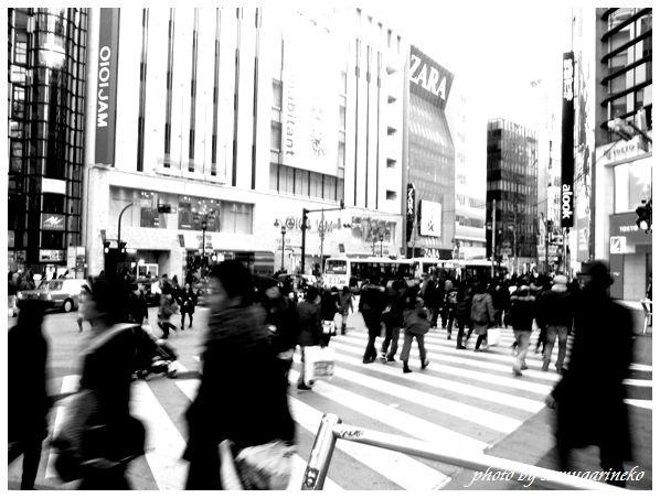 渋谷マルイ前の交差点