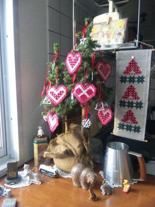 今年の我が家のツリー