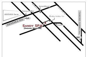 SandySPA MAP 1