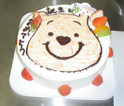 かわいいバースデーケーキ100816b
