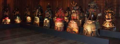姫路城展示物(1)-鎧兜