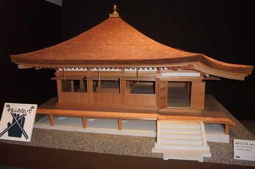 展示物(1)-鶴林寺太子堂模型