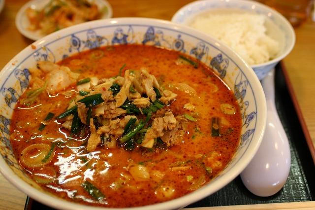 スーパータンタン麺+ランチサービスご飯 通常942円
