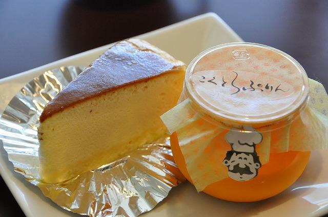 DSC_0457 私 三皿目 チーズケーキ 280円、 こくとろプリン 270円
