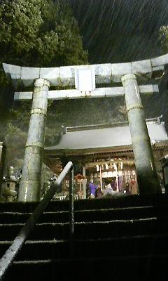 陶山神社有田焼鳥居(2010.12.30撮影)