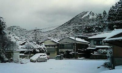 雪の英山(2010.12.31)