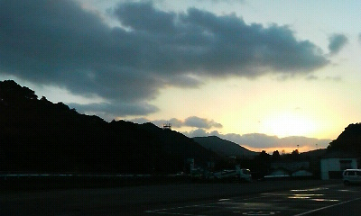 夕景1(2011.02.12.17:50)