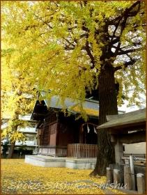 20131214 お堂 2 銀杏
