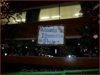 20131220 夜 3 早稲田イルミネーション