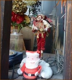 20131224 中 1 クリスマス飾り