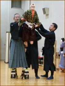 20131227 主遣い 1 文楽