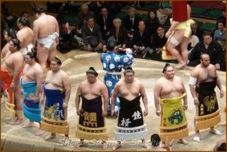 20140122 土俵入り 1 お相撲