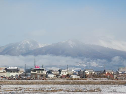 クリスマスの浅間山