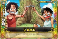 S025-W ルフィとエース(幼年期)