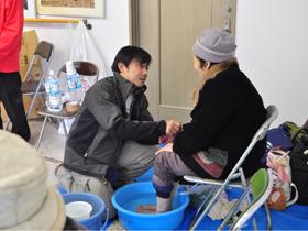 20101226久崎市(足湯)
