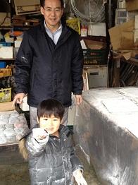20111225餅つき③