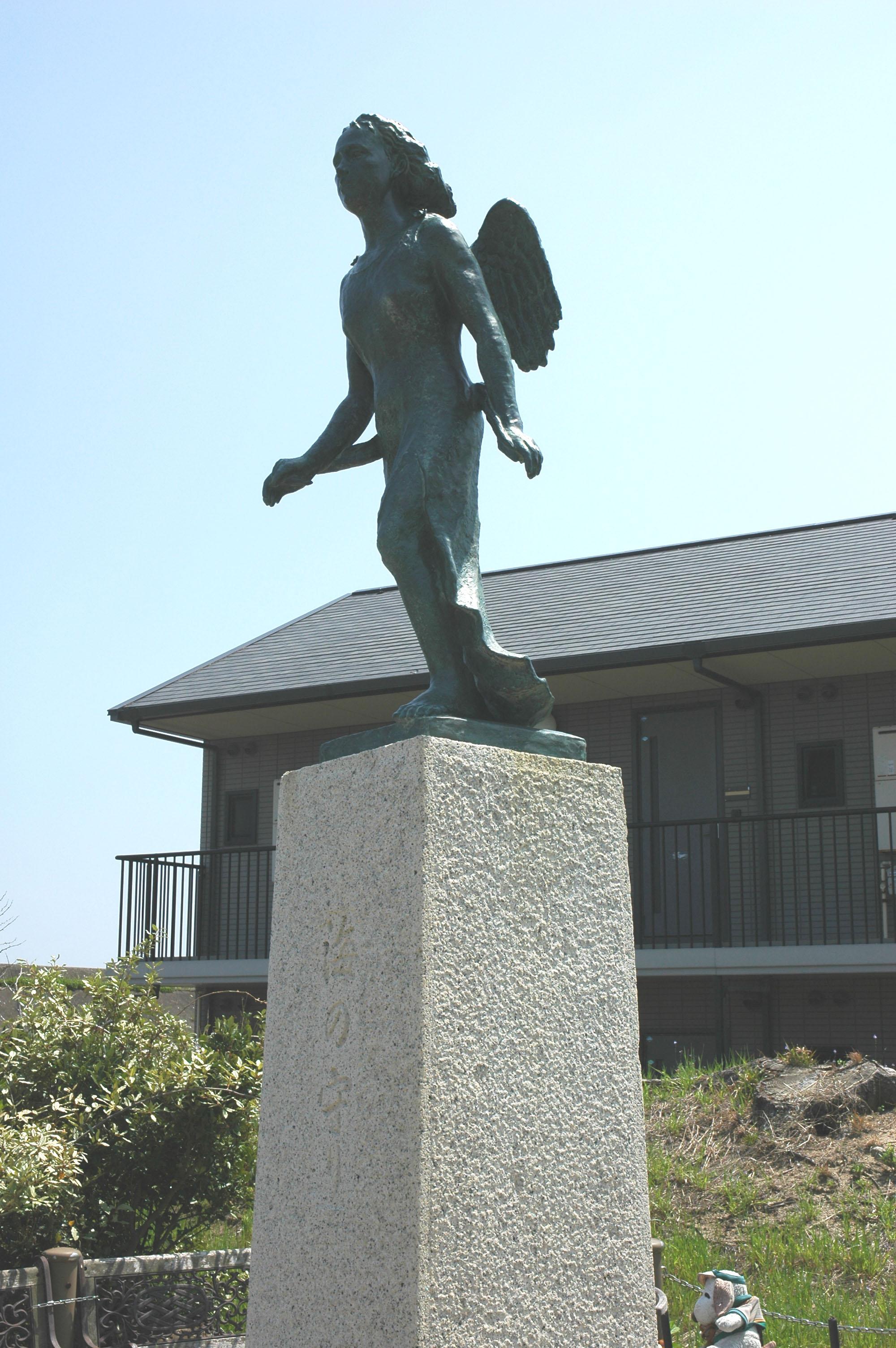 「海の守り」女神像