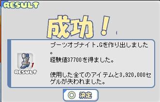 アーマーオブナイト靴N→G 2