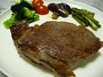 松坂肉のステーキ