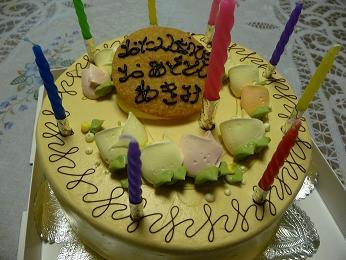 娘のバースデーケーキ