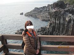 済州中文大浦海岸