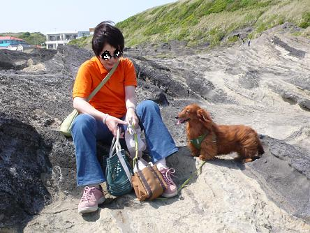 ママ、海に行ったね