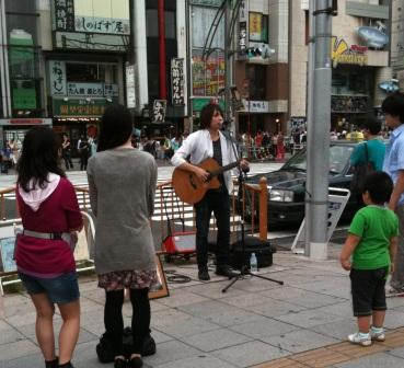 上野ストリートライブ2