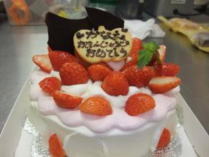 苺ケーキ (2)