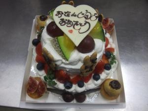二段ケーキ