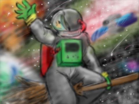 絵描きの為の地雷バトン7日目「卒業」