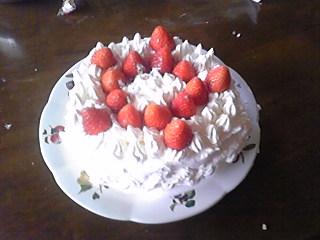 二日遅れのクリスマスケーキ