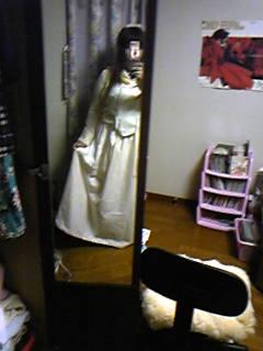 旦那作エリーザベトドレスを着てみて悪ノリする嫁その1