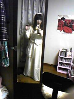 旦那作エリーザベトドレスを着てみて悪ノリする嫁その2