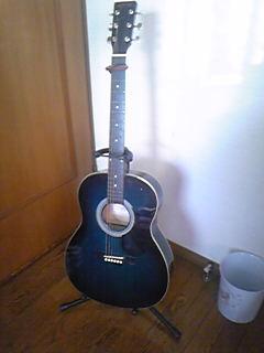 嫁さんのギター。