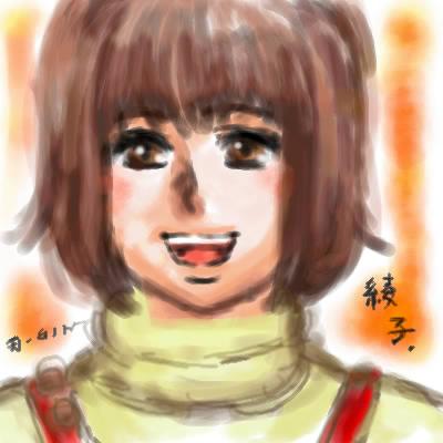 旦那画・綾子姉さん。稀代の音痴歌姫。