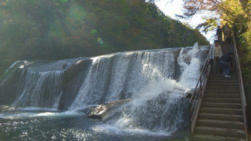 七ヶ宿滑津大滝9