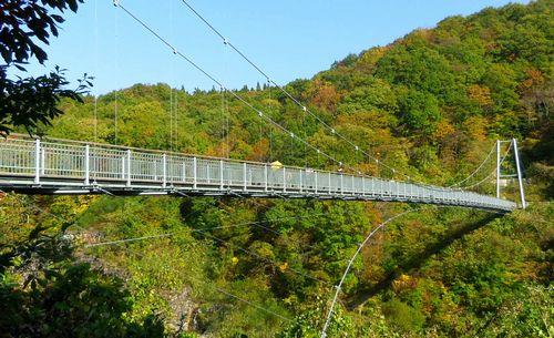 七ヶ宿やまびこ吊橋7