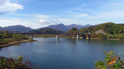 仙台から薬莱山5七ツ森ダム